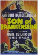 Son of Frankenstein movie poster