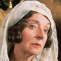 Lady Catherine de Bourgh played by Barbara Leigh-Hunt