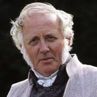 Mr. Bennet played by Benjamin Whitrow
