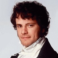 Mr. Darcy played by Colin Firth