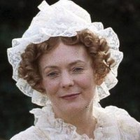 Mrs. Bennet played by Alison Steadman