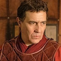 Gaius Julius Caesar played by Ciarán Hinds
