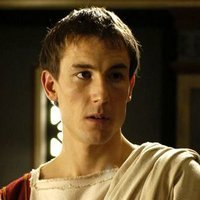 Marcus Junius Brutus played by Tobias Menzies