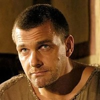 Titus Pullo played by Ray Stevenson