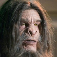 Bigfoot played by Christopher Heyerdahl