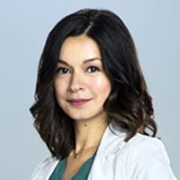 Dr. Maggie Lin played by Julia Taylor Ross