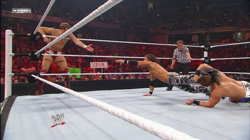 S0E0 Daniel Bryan and John Morrison Vs. the Miz and Alex Riley