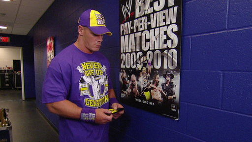 S0E0 John Cena Contemplates His Future in the WWE