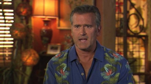S4E0 Bruce Campbell on New Villains and Clients