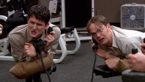 S08E23 Workout Buddies