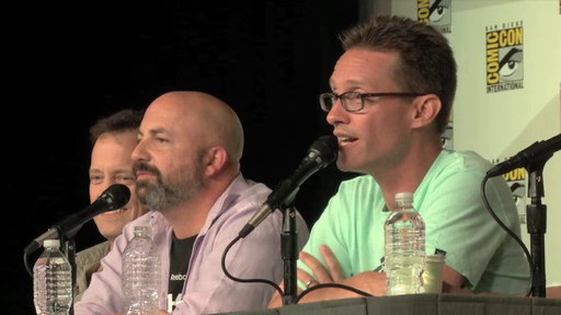 S0E0 American Dad Panel at Comic-Con