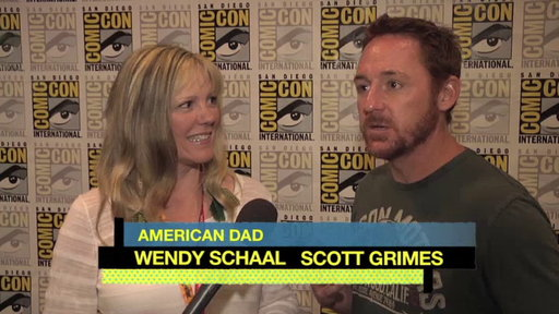 S7E0 Wendy and Scott at Comic-Con