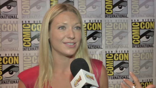 S4E0 Anna Torv in the Press Room