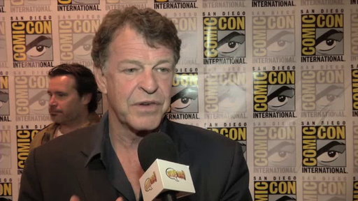 S4E0 John Noble in the Press Room