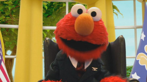 "S43E481 Elmo the Musical - ""The First Monster President"""