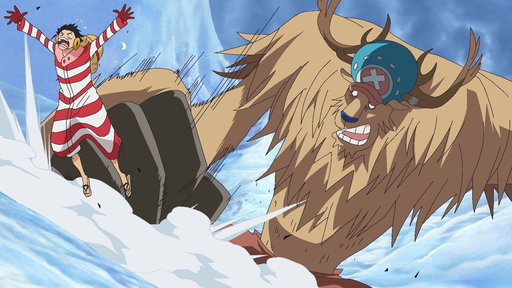 S11E593 (Sub) Save Nami! Luffy's Fight On the Snow-Capped Mountains!