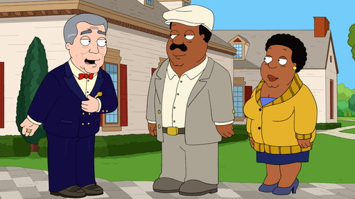 The Cleveland Show S04E21 Mr. and Mrs. Brown