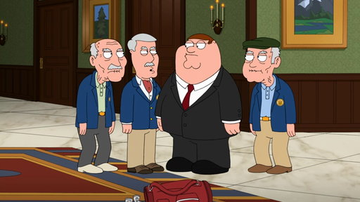 S11E23 The Griffins Arrive at the Barrington Country Club