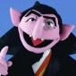 The Count played by Jerry Nelson