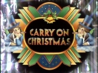 Carry on Christmas 1973 TV Series
