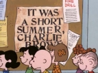 It Was a Short Summer, Charlie Brown TV Show
