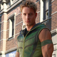 Green Arrow played by Justin Hartley