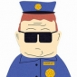 Officer Barbrady played by Trey Parker