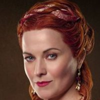 Lucretia played by Lucy Lawless