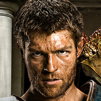 Spartacus played by Andy Whitfield