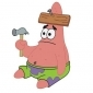 Patrick Star played by Bill Fagerbakke