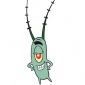 Plankton played by Mr. Lawrence