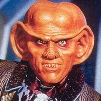 Quark played by Armin Shimerman