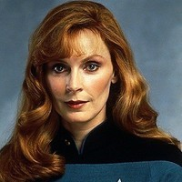 Doctor Beverly Crusher played by Gates McFadden