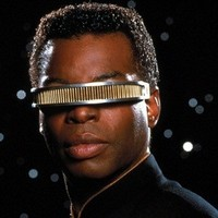 Lieutenant Commander Geordi La Forgeplayed by LeVar Burton