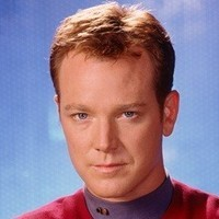 Lieutenant Tom Paris (briefly demoted to Ensign) played by Robert Duncan McNeill