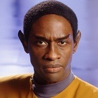 Lieutenant Tuvok (later Lieutenant Commander) played by Tim Russ