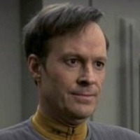 Lieutenant Reginald 'Reg' Barclay III played by Dwight Schultz
