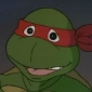 Raphael played by Rob Paulsen