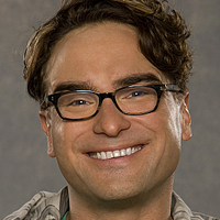 Leonard Hofstadter played by Johnny Galecki