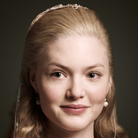 Lucrezia Borgia played by Holliday Grainger