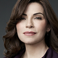 Alicia Florrick played by Julianna Margulies
