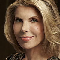 Diane Lockhart played by Christine Baranski