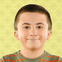 Brick Heck played by Atticus Shaffer