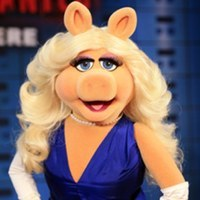Miss Piggy played by Frank Oz