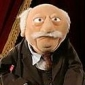 Waldorf played by Jim Henson