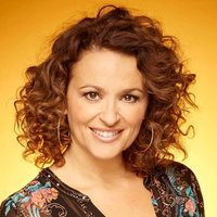 Herself - Presenter (2) played by Nadia Sawalha