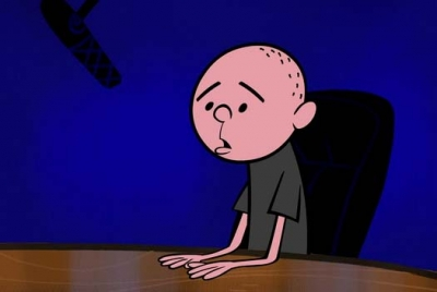 Karl Pilkington - Cartoon photo