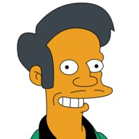 Apu played by Hank Azaria