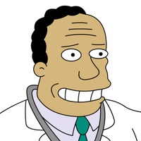 Dr. Hibbert The Simpsons