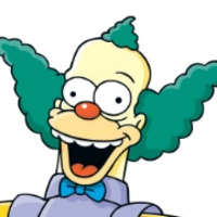 Krusty the Klown played by Dan Castellaneta